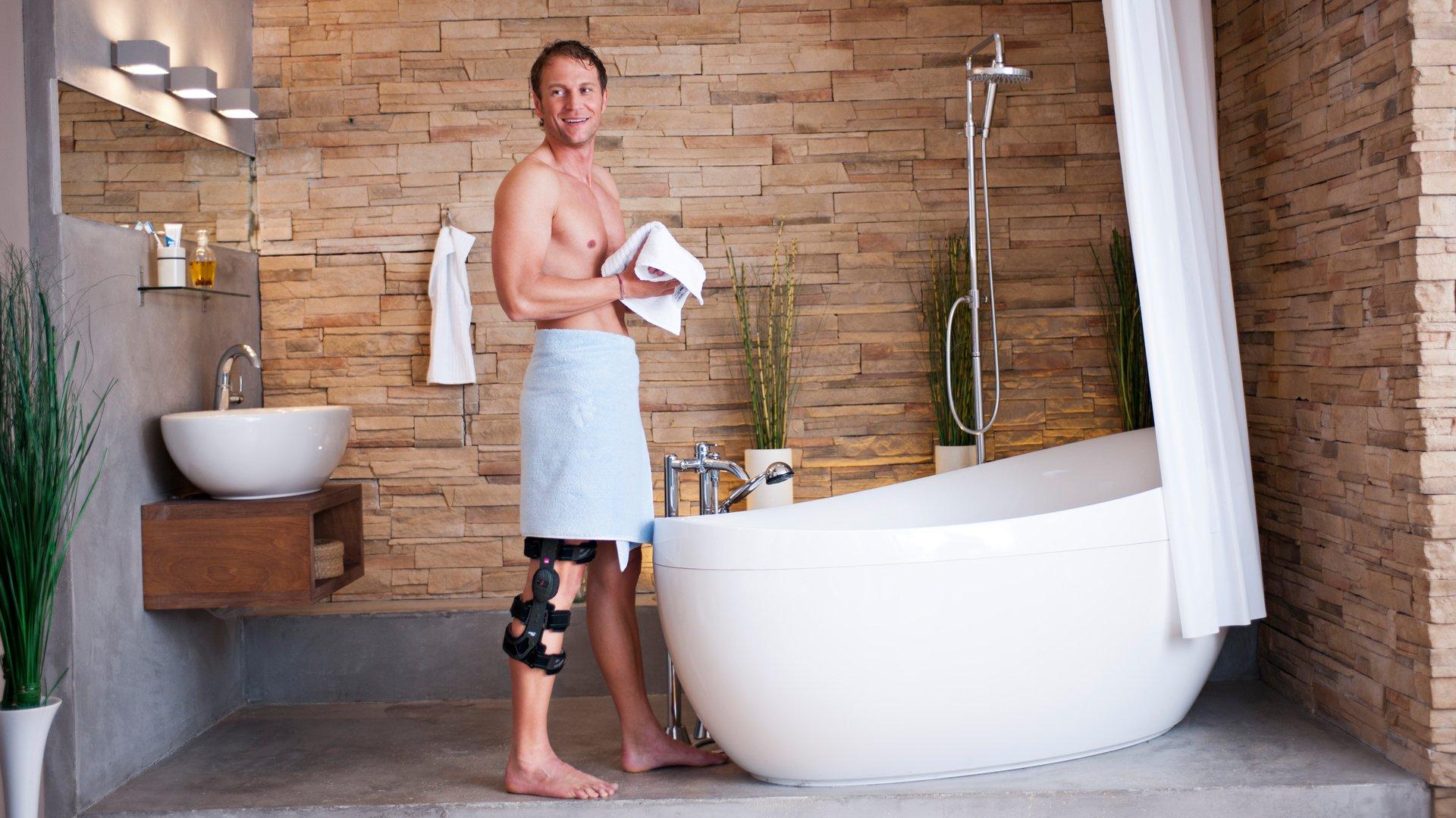 Umfrage bestätigt Schutzfunktion einer Knieorthese in kritischen Alltagssituationen